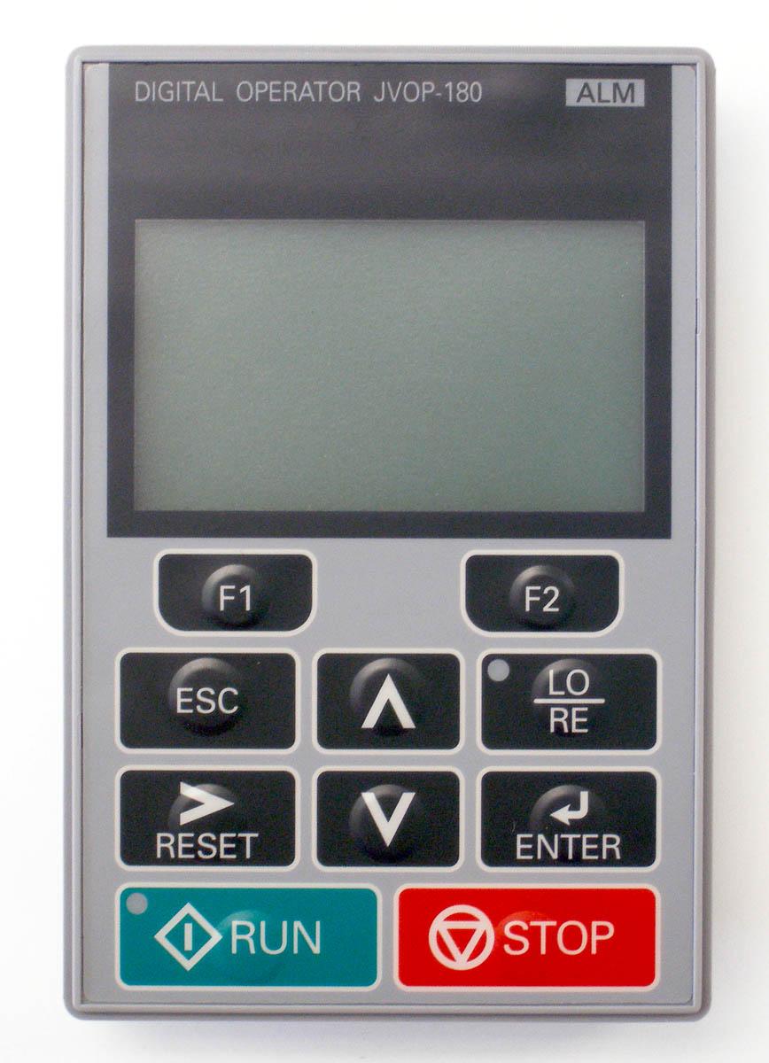 operador digital jvop, Variador de Frecuencia L1000, Variadores Chile, Ascensores, elevacion, Yaskawa, Drive, Inversor