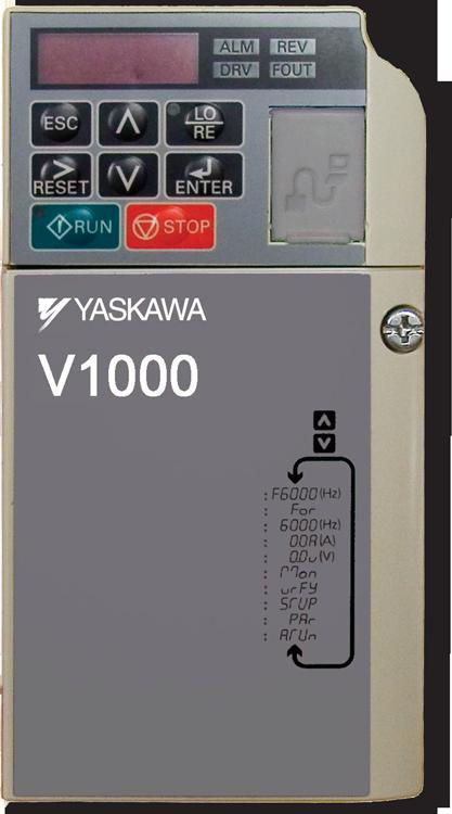 Variador de Frecuencia V1000, Variadores Chile, vectorial, proposito general, Yaskawa, Drive, Inversor